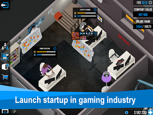 Business Inc. 3D Realistic Startup Simulator Game 2.2.0 cheat screenshots 1