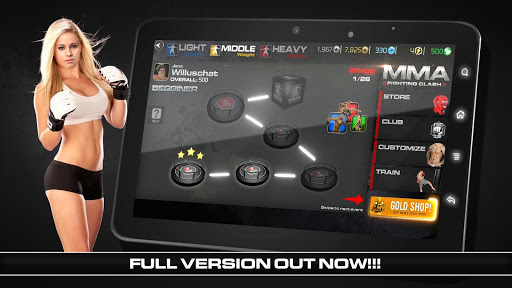 MMA Fighting Clash 1.21 cheat screenshots 1