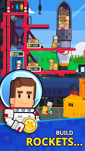 Rocket Star – Idle Space Factory Tycoon Games 1.19.1 cheat screenshots 2