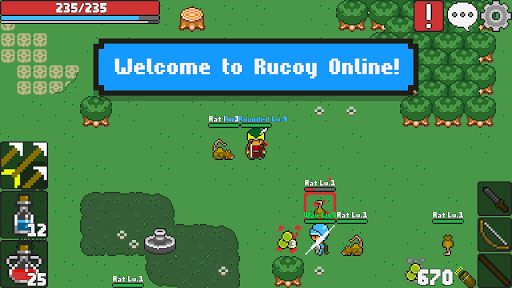 Rucoy Online – MMORPG – MMO – RPG 1.17.2 cheat screenshots 1