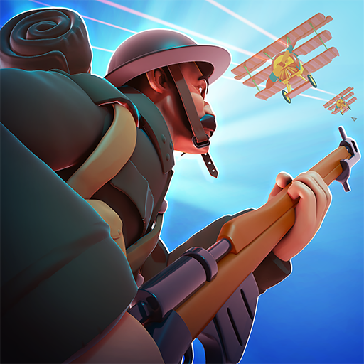 Free Download Game of Trenches: WW1 Strategy 2019.6.1 APK MOD Unlimited Gold