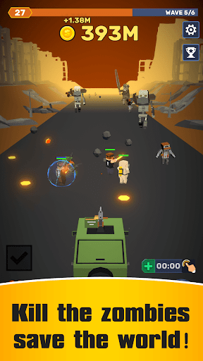 Idle Convoy VS Zombies Incremental 1.2.3 cheat screenshots 1