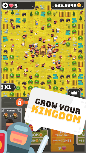 Merge Empire – Idle Kingdom amp Crowd Builder Tycoon 0.0.35 cheat screenshots 1