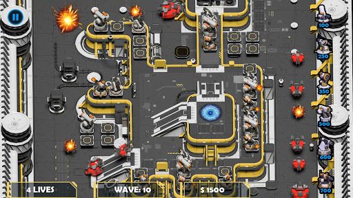 Scifi Tower Defense TD Real Strategy Game 1.1 cheat screenshots 1
