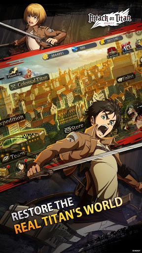 Attack on Titan Assault 1.1.5 cheat screenshots 2