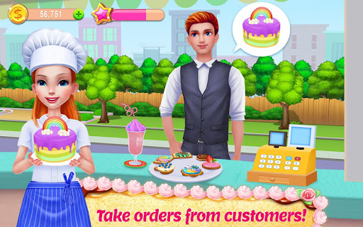 My Bakery Empire – Bake Decorate amp Serve Cakes 1.0.8 cheat screenshots 2