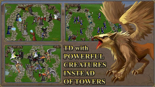TDMM Heroes 3 TD Fantasy Tower Defence games 1.8.15 cheat screenshots 2
