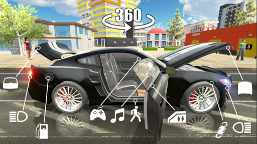 Car Simulator 2 1.23 cheat screenshots 1
