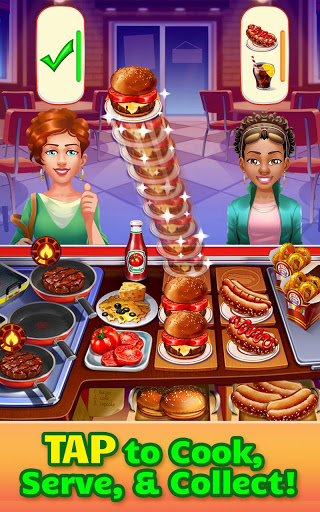 Cooking Craze Crazy Fast Restaurant Kitchen Game 1.42.1 cheat screenshots 1