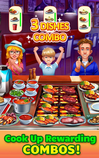 Cooking Craze Crazy Fast Restaurant Kitchen Game 1.42.1 cheat screenshots 2