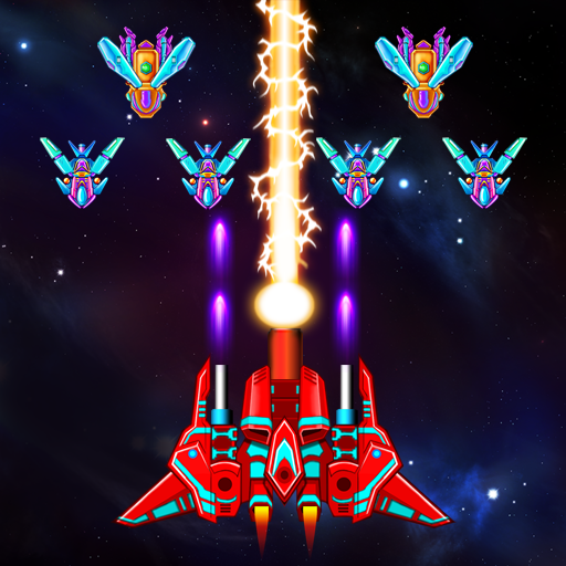 Galaxy Attack Alien Shooter 8.03 APK MOD Download