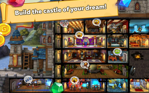 Hustle Castle Fantasy Kingdom. Medieval RPG 1.13.1 cheat screenshots 1
