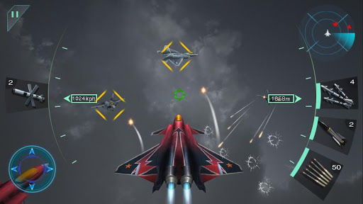Sky Fighters 3D 1.5 cheat screenshots 2