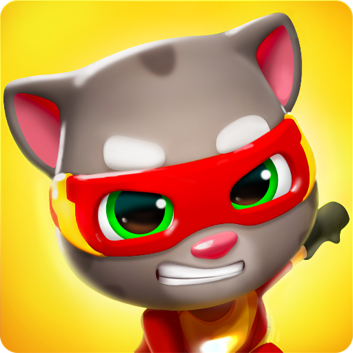 Talking Tom Hero Dash – Run Game 1.1.4.617 APK MOD Download