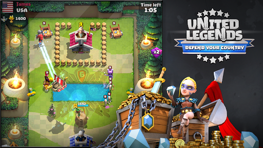 United Legends – Defend your Country 2.4.6 cheat screenshots 2