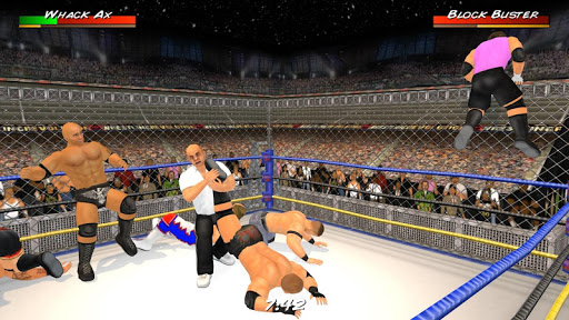 Wrestling Revolution 3D 1.656 cheat screenshots 1