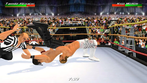 Wrestling Revolution 3D 1.656 cheat screenshots 2