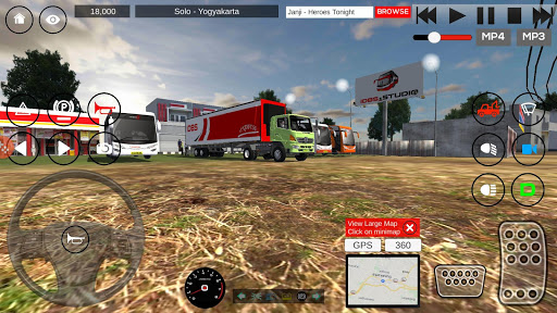 IDBS Indonesia Truck Simulator 3.0 cheat screenshots 1