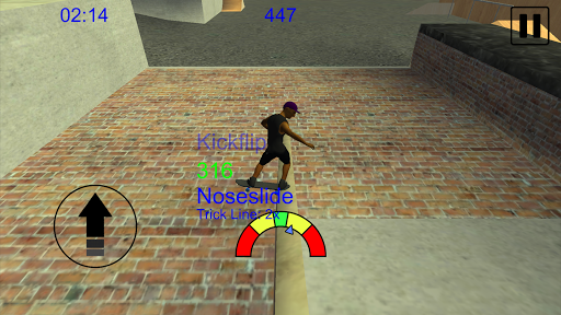 Skating Freestyle Extreme 3D 1.59 cheat screenshots 2