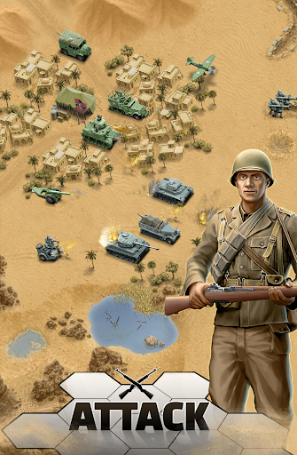 1943 Deadly Desert – a WW2 Strategy War Game 1.3.0 cheat screenshots 1