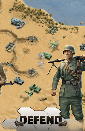 1943 Deadly Desert – a WW2 Strategy War Game 1.3.0 cheat screenshots 2