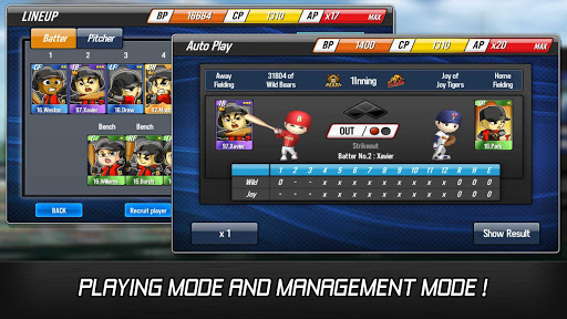 Baseball Star 1.6.5 cheat screenshots 2