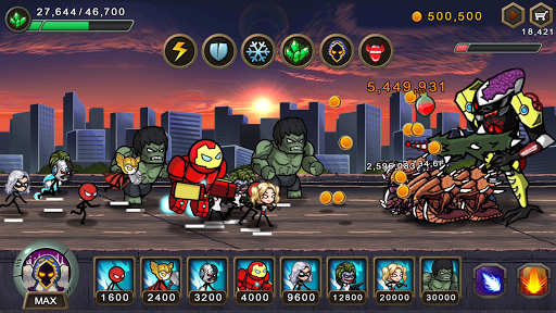 HERO WARS Super Stickman Defense 1.0.8 cheat screenshots 1