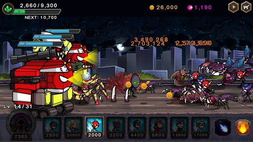 HERO WARS Super Stickman Defense 1.0.8 cheat screenshots 2