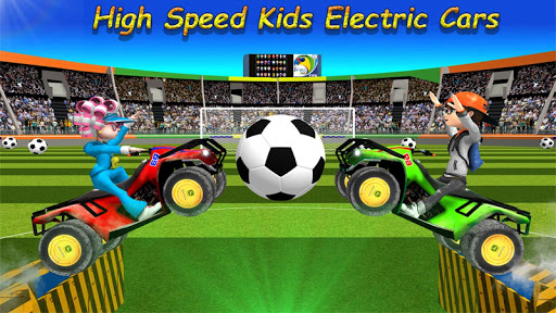 Happy Soccer League Kids Electric Cars 1.2 cheat screenshots 1