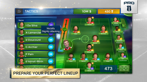 Pro 11 – Soccer Manager Game 1.0.49 cheat screenshots 2