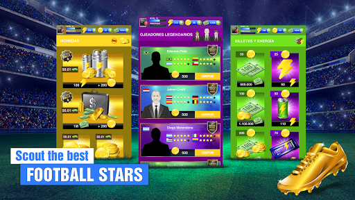 Soccer Agent – Mobile Football Manager 2019 2.0.2 cheat screenshots 1