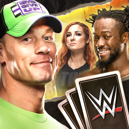 WWE SuperCard Multiplayer Card Battle Game 4.5.0.436352 APK MOD Free Download