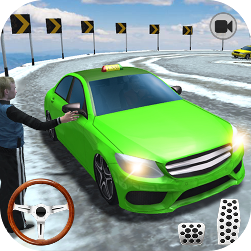 Hill Taxi Car Driving – Taxi Sim 2019 1.04 APK MOD Download