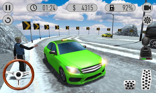 Hill Taxi Car Driving – Taxi Sim 2019 1.04 cheat screenshots 1