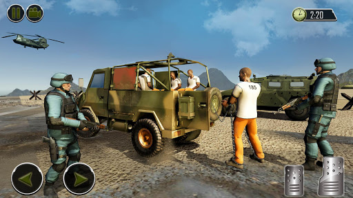 OffRoad US Army Helicopter Prisoner Transport Game 2.0 cheat screenshots 2