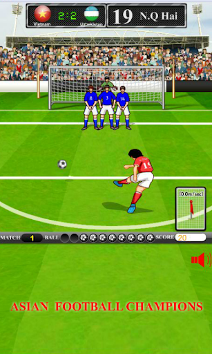 Asian Football Champions – Soccer free kick 1.0.1 cheat screenshots 1