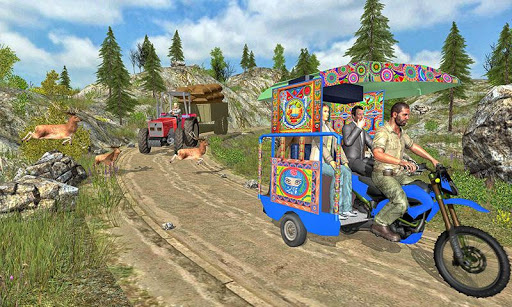 Chingchi Rickshaw Tuk Tuk Sim 1.0.8 cheat screenshots 1