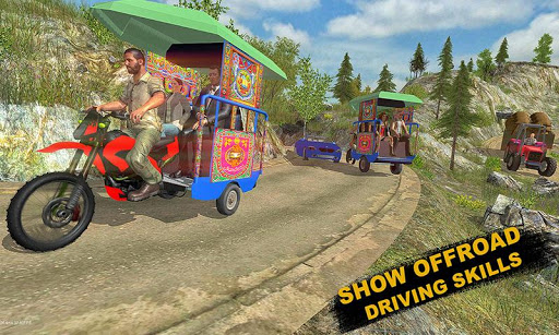 Chingchi Rickshaw Tuk Tuk Sim 1.0.8 cheat screenshots 2