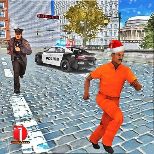 Drive Police Car Gangsters Chase : Free Games 2.0.04 APK MOD Download