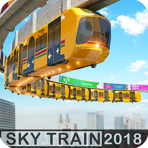 Elevated Train Driving Simulator Sky Tram Driver 1.5 APK MOD Download