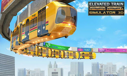 Elevated Train Driving Simulator Sky Tram Driver 1.5 cheat screenshots 1