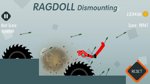 Ragdoll Dismounting 1.40 cheat screenshots 1
