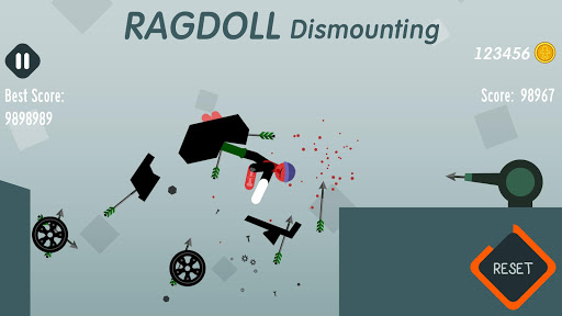 Ragdoll Dismounting 1.40 cheat screenshots 2
