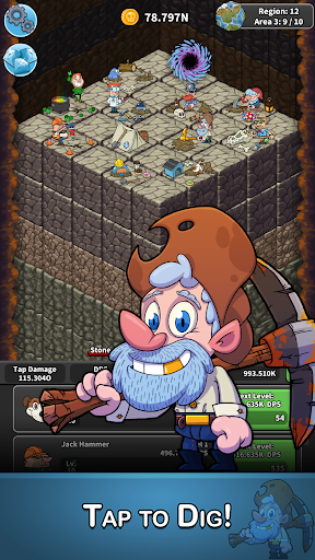 Tap Tap Dig – Idle Clicker Game 1.9.6 cheat screenshots 2