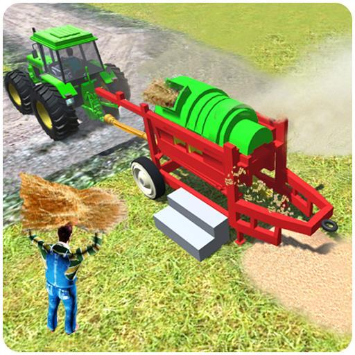 Tractor Thresher Simulator 2019 Farming Games 2.0.06 APK MOD Download