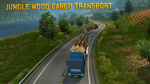 Truck Games Real Wood Cargo Transporter 3D 2019 2.0 cheat screenshots 1