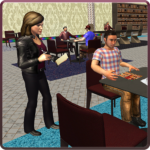 Virtual Waitress Hotel Manager Simulator 1.03 APK MOD Download