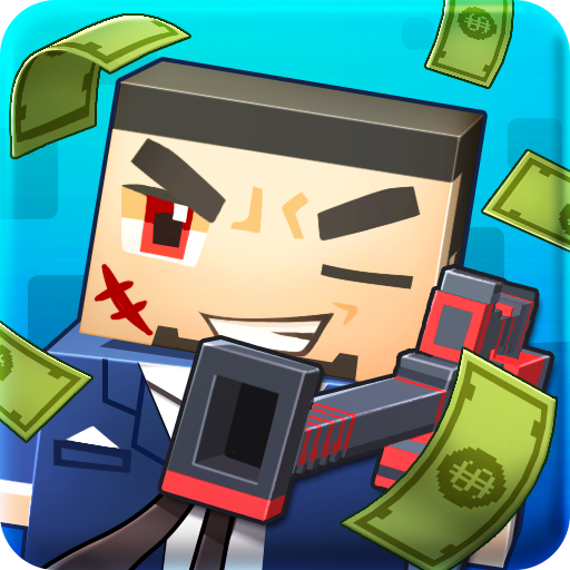 Blocky Gangstar Pixel Shooter Mafia City 1.0.2 APK MOD Free Download