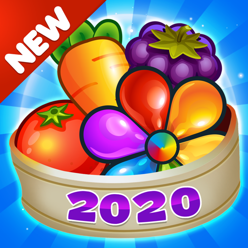 Garden Blast New 2019 Match 3 in a Row Games Free 2.0.5 MOD APK Free Download