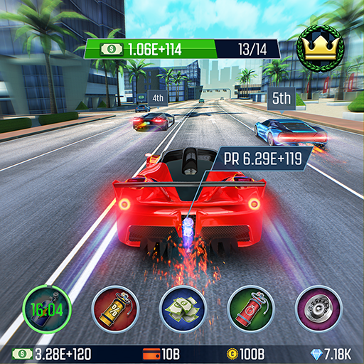 Idle Racing GO Clicker Tycoon Tap Race Manager 1.26.3 APK MOD Download